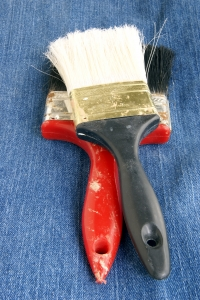 Stock Photo Thumbnail: Two Old Paintbrushes