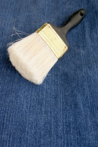 Stock Photo Thumbnail: Old Paintbrush