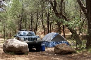 Royalty Free Image: Remote Camping
