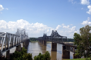 Royalty Free Image: Mississippi River Bridges