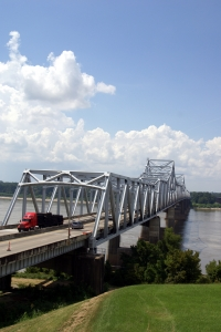 Royalty Free Image: Mississippi River Bridge