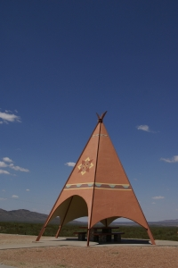Royalty Free Image: TeePee Picnic Shelter