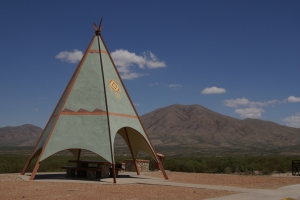 Royalty Free Image: Texas Picnic TeePee