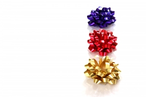 Stock Photo Thumbnail: Christmas Bows