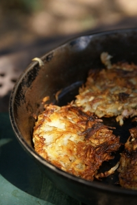 Royalty Free Image: Hash Browns Vertical