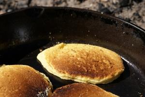 Royalty Free Image: Cornmeal Pancakes