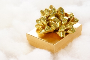 Royalty Free Image: Golden Gift