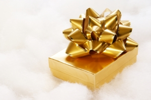 Stock Photo Thumbnail: Golden Gift