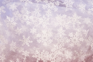 Stock Photo Thumbnail: White Snowflake Fabric Background