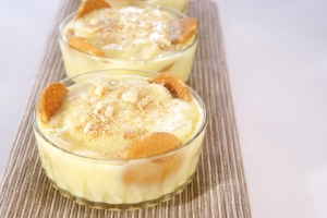 Royalty Free Image: Banana Pudding