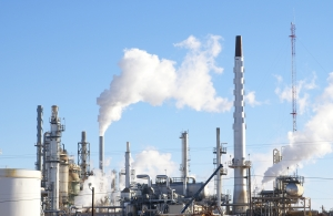 Stock Photo Thumbnail: Refinery Pollution