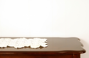 Stock Photo Thumbnail: Doily on Table