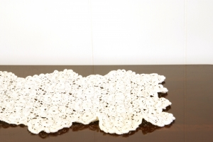 Royalty Free Image: Doily on Table